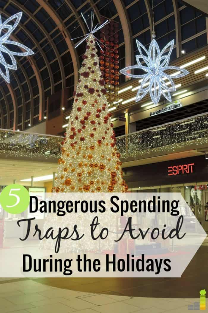 There are many ways retailers trick you into spending more money. Here are 5 popular retailer tricks and how to avoid them this holiday season.