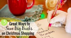If you shop for Christmas gifts year round it makes it less stressful. Here's how I save money on Christmas gifts by shopping year round for family.