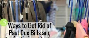 Have past due bills, but don't know if you should pay them or save money? Here's what to do when you have late bills to pay but need to save money.