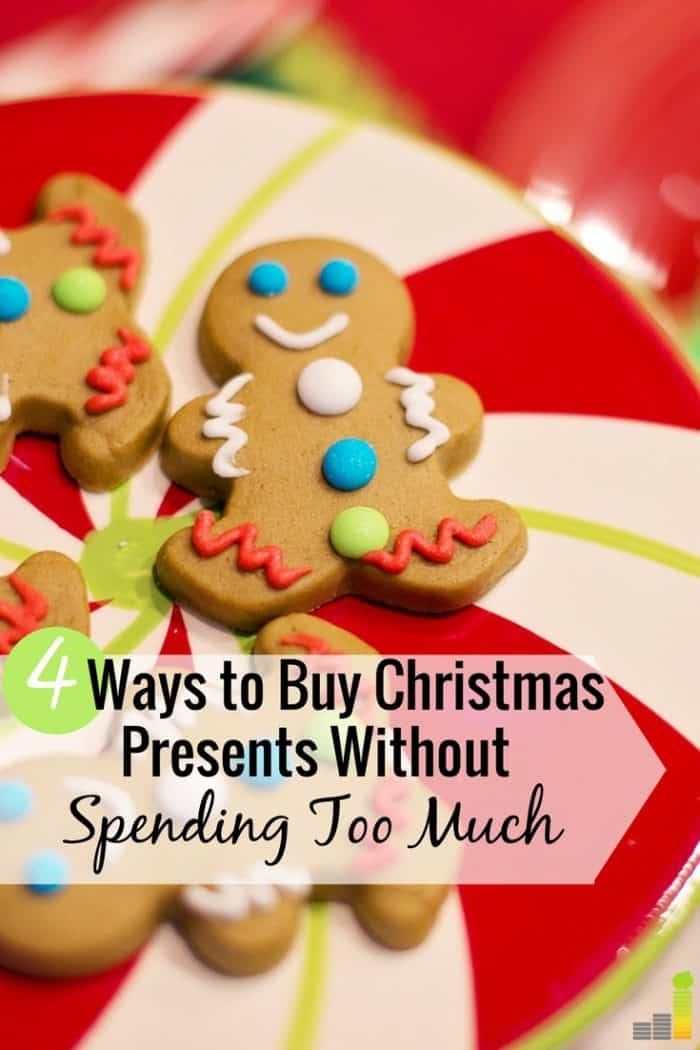 Going into debt for Christmas presents? You don't have to. Here are 4 ways you can save money Christmas shopping and not go into debt as a result.