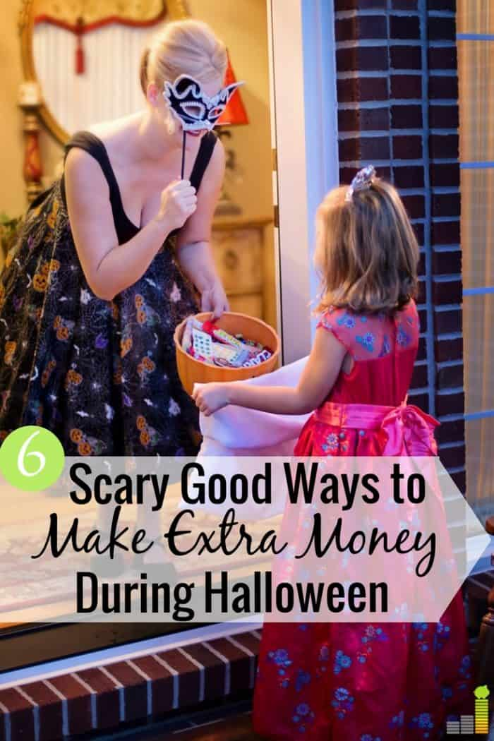 Love Halloween, but love making money more? Here are six ways to make extra money during Halloween season that'll put more money in your pocket.