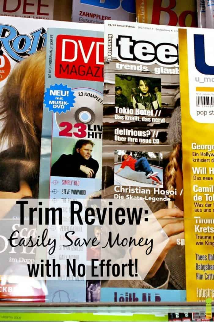 Trim is an app that cuts unused subscriptions to save you money. Read our Ask Trim review to see how you can use a robot to save money and get cash back.