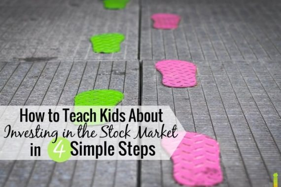 You should teach kids about investing to help them become financially literate. Here are 4 simple ways to teach your kids about the stock market.
