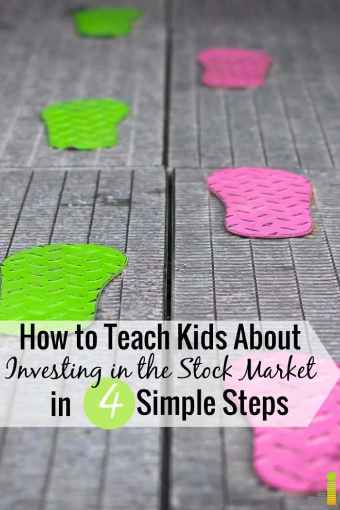 how to teach kids about investing in 4 simple steps