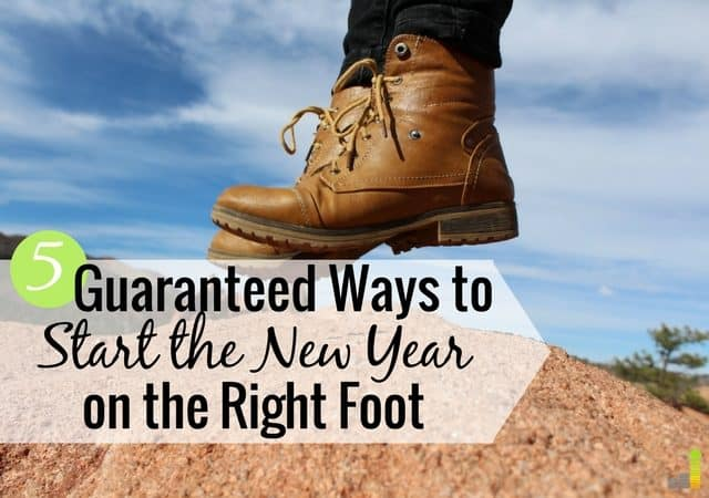 Want to start 2018 on the right financial foot but don't know how? Here are 5 ways to start the new year right and make it the best year for your finances.