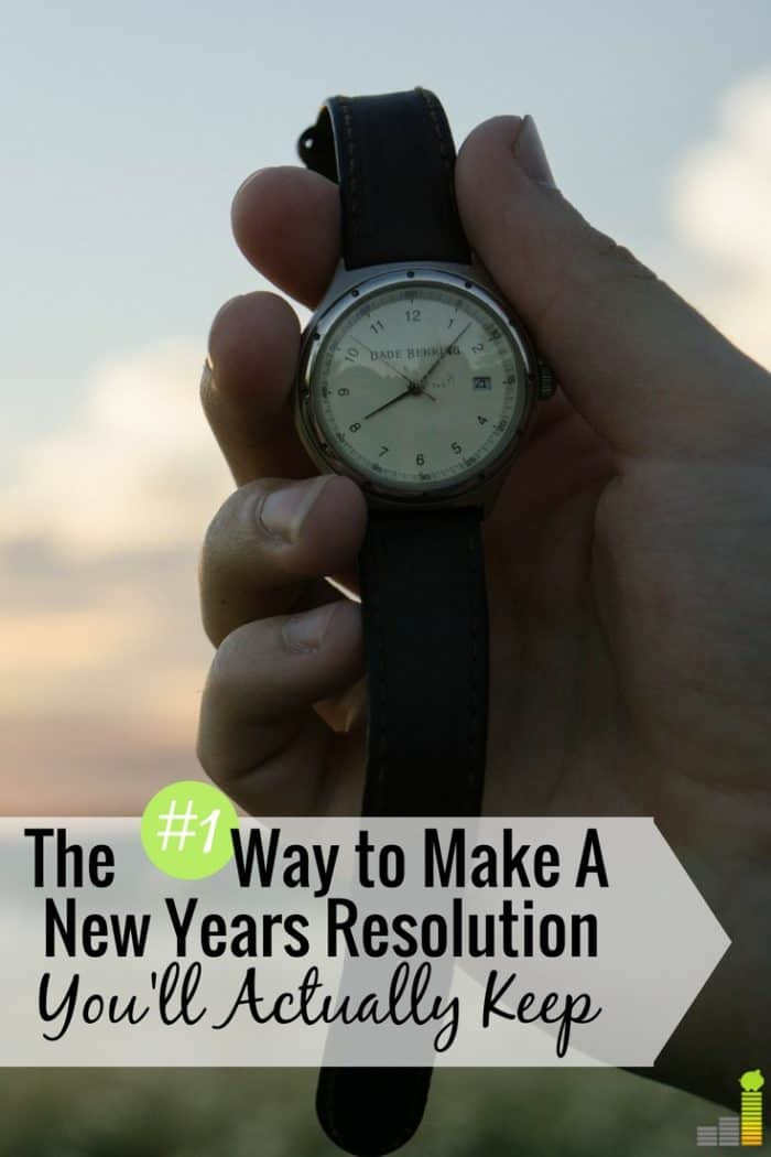 Don't know how to make your New Years resolution stick? Here's how to make a resolution you'll keep and how to reach your goal in the New Year.