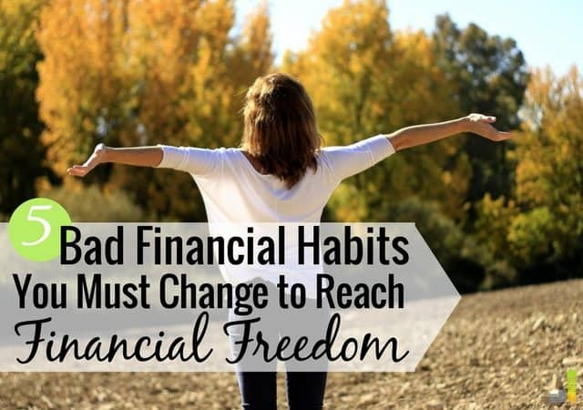 Bad financial habits ruin our desire for financial stability. Here are 5 financial habits to avoid using in the New Year, and what to do instead.