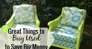 What things you should buy used is not always easy to determine. Here are 7 items you can buy used that will save money and not sacrifice on quality.