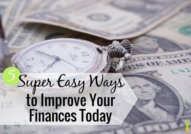 Simple money moves make it easy to improve your finances. Here are 5 simple money moves you can make today to improve your financial life.
