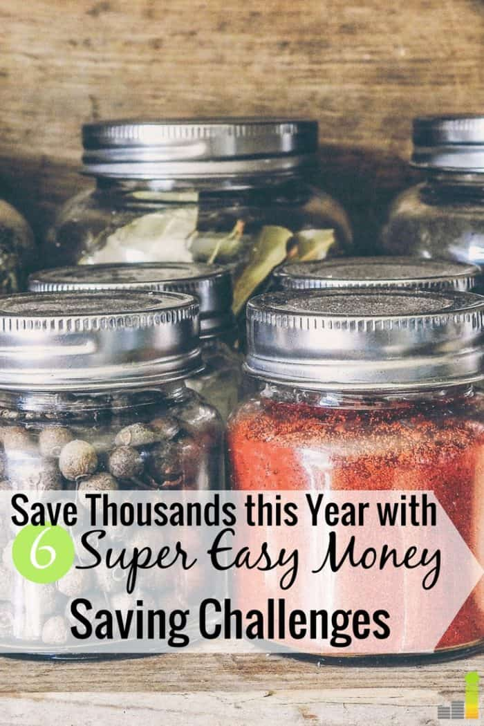 Money saving challenges are a great way to save more money. Here are 6 different money saving challenges to try for 2018 to grow your money.