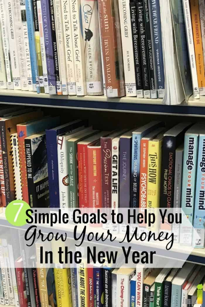 Goals are common for the New Year, but they often aren't met. Here are 7 simple goals to set to have a great year and what's needed to be successful.
