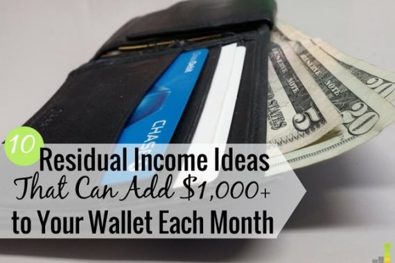 There are many residual income opportunities to be had to make extra money. Here are 10 residual income ideas that can help you grow your long-term wealth.