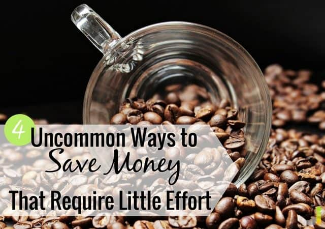Looking for uncommon ways to save money to tighten your budget? Here are 4 simple, unknown ways to save money to help keep more money in your pocket.