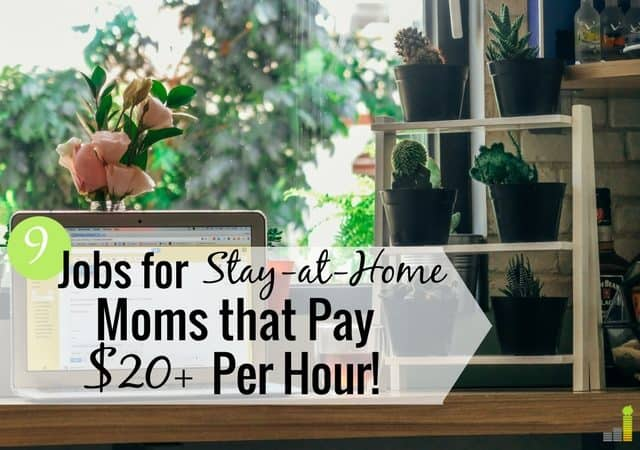 High Paying Jobs For Stay At Home Moms