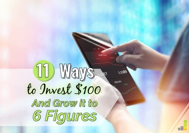 Want to know how to invest $100 or less, but don't know what to do? Here are 11 top ways to invest 100 dollars that will grow your money.
