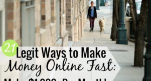There are many ways to make money online fast. Here are 21 ways to make extra money online for free that require little skill and help you reach financial goals.