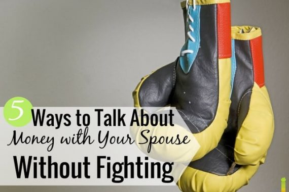 A money date with your spouse can get you both on the same page financially. Here are 5 areas to cover that will help you stop fighting about money.