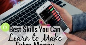Looking for the best skills to learn to make money? This post shares 6 skills you need to learn to make extra money, grow your income and improve your long-term finances.