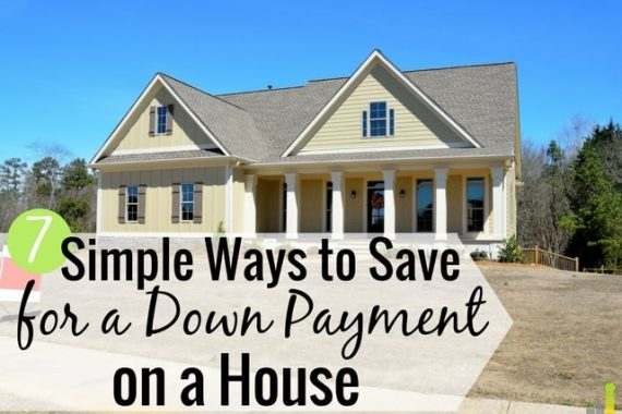 Simple ways to save for a down payment help you save money on your mortgage. Here's how to save money for a down payment without too much effort.