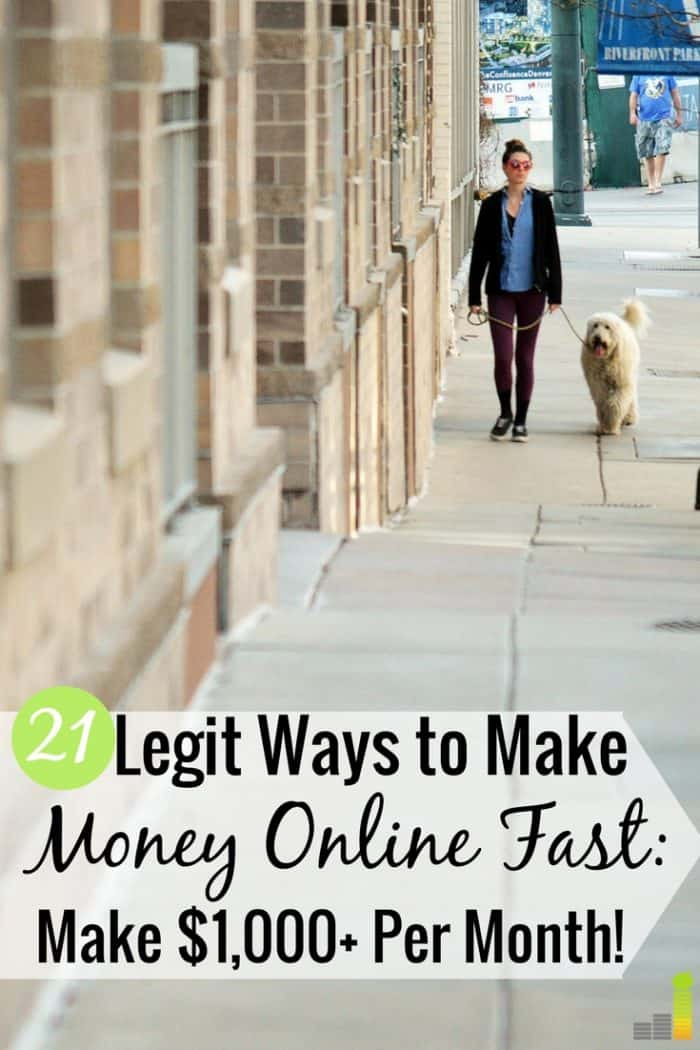 There are many ways to make money online fast. Here are 21 ways to do it free that require little skill and help you to reach your financial goals.