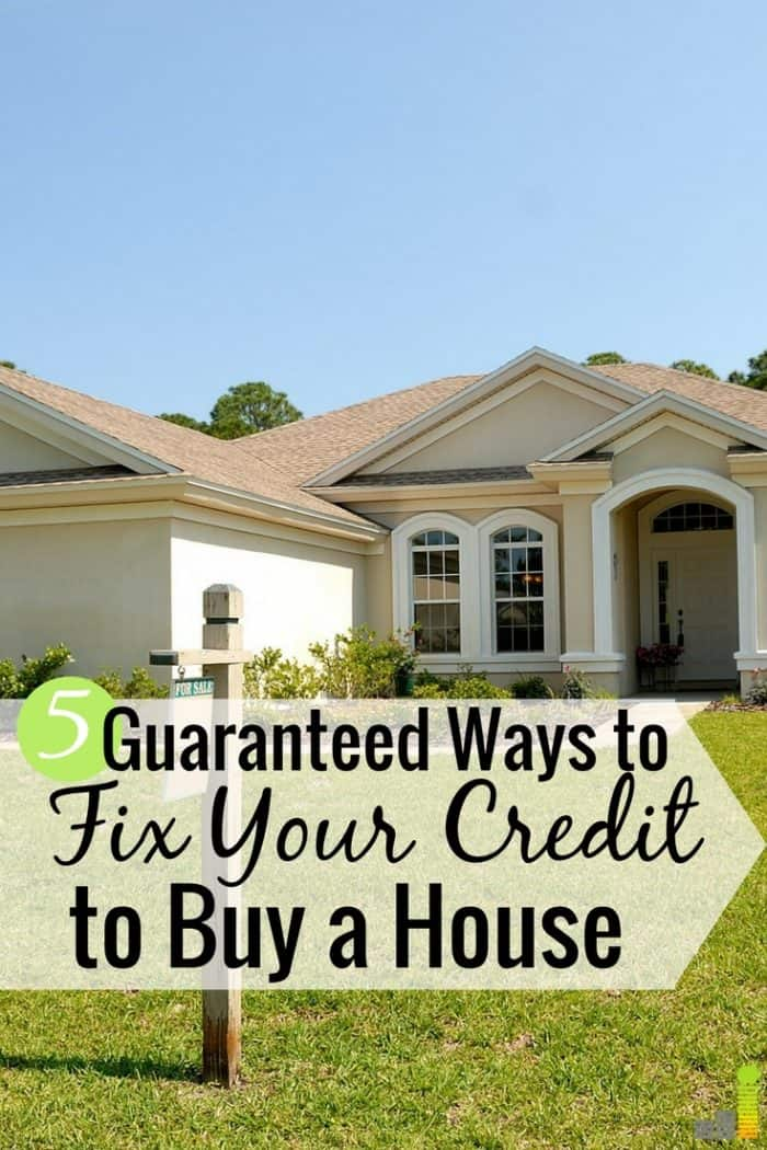 It's a challenge to get your credit ready to buy a house, but it can be done. Here's how to get the credit score needed to buy a house and a lower interest rate on your mortgage.
