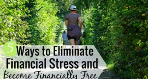 Dealing with financial stress is common for many people and can lead to depression. Here are 5 ways to overcome financial problems and work towards a life of happiness and financial freedom.