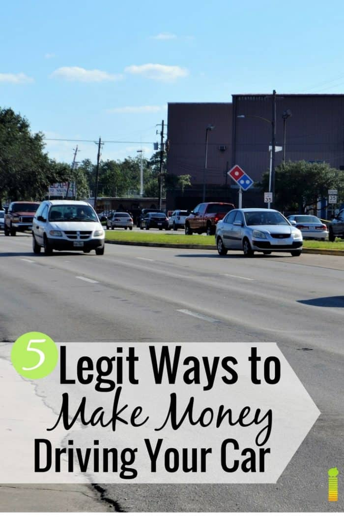 Get paid for driving your car and hit your money goals. Here are 5 simple ways to make money driving anyone can do to earn extra income on the side.