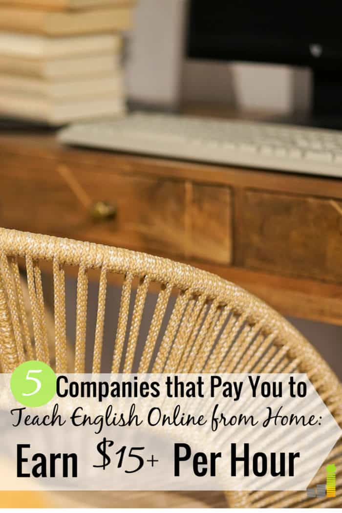 Want to teach English online from home but think it will take a lot of work? Here are 5 of the top companies that will let you get paid to teach English online on your own schedule with little administrative work.