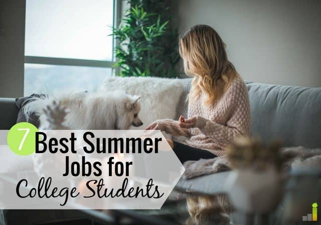The best summer jobs for college students pay well. Here are the 7 best, highest paying jobs that require little skill but teach valuable skills.