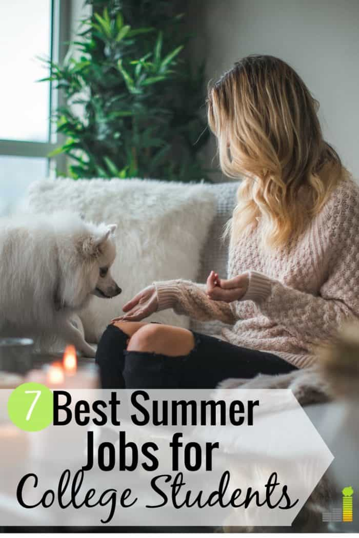 The best summer jobs for college students let them make good money to cover priorities. Here are the 7 best highest paying summer jobs for college students that require little skill but let them earn valuable skills.