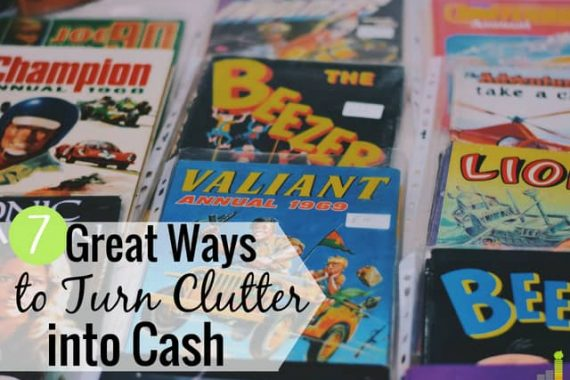 Want to sell your old stuff for money but don't know where you can do it? Here are the 7 best sites to sell your stuff and turn clutter into cash.