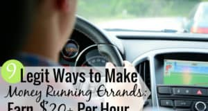 You can run errands for money and make good cash to supplement your budget. Here are 9 legit ways to run errands and get paid as a side hustle.