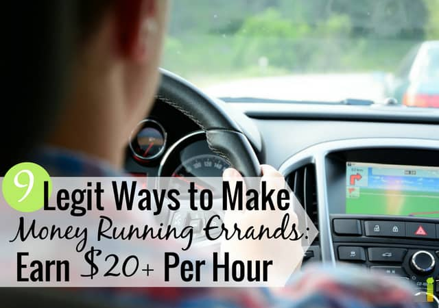 9 Legit Ways To Run Errands For Money Frugal Rules