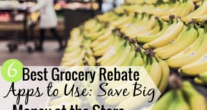 The best grocery rebate apps let you save money on groceries and more. Here are the 6 best cash back grocery apps that put more money in your pocket.