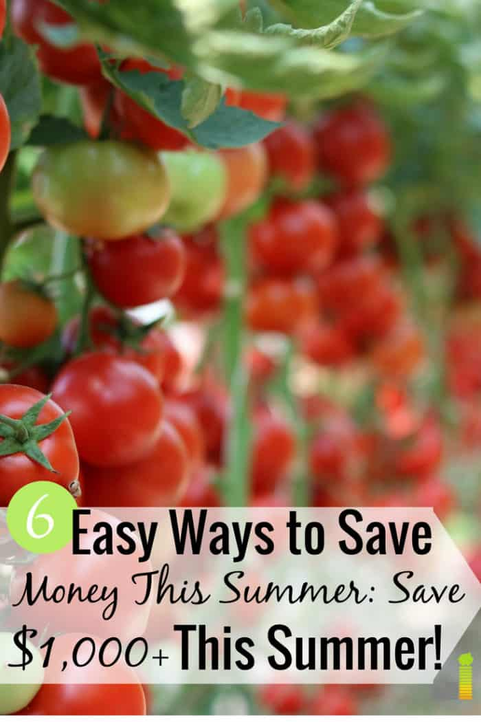 There are many creative ways to save money to pad your budget. Here are 6 of the best ways to save money this summer that won't kill the summer fun.