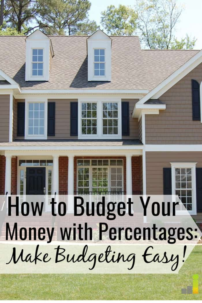 10 recommended budget percentages by category how much should you