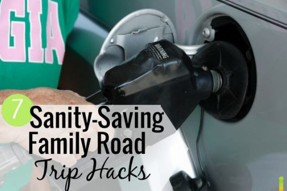 Family road trips with kids are fun, but also chaotic at times. Here are 7 ways to have fun on summer road trips that are frugal and keep you sane.