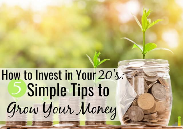 Start investing in your 20s even if you have little money. Here are some simple ways to invest in stocks in your 20s when you don't know where to start.