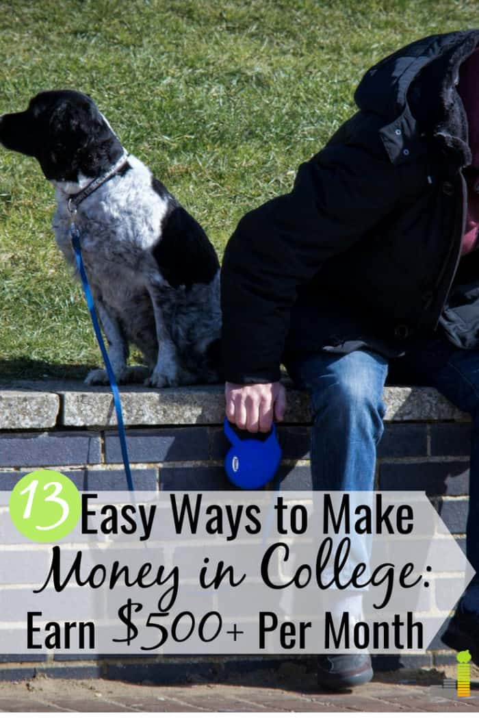 Need to make money in college, but don't know where to start? Here are 13 of the best ways to make money as a college student that anyone can do.