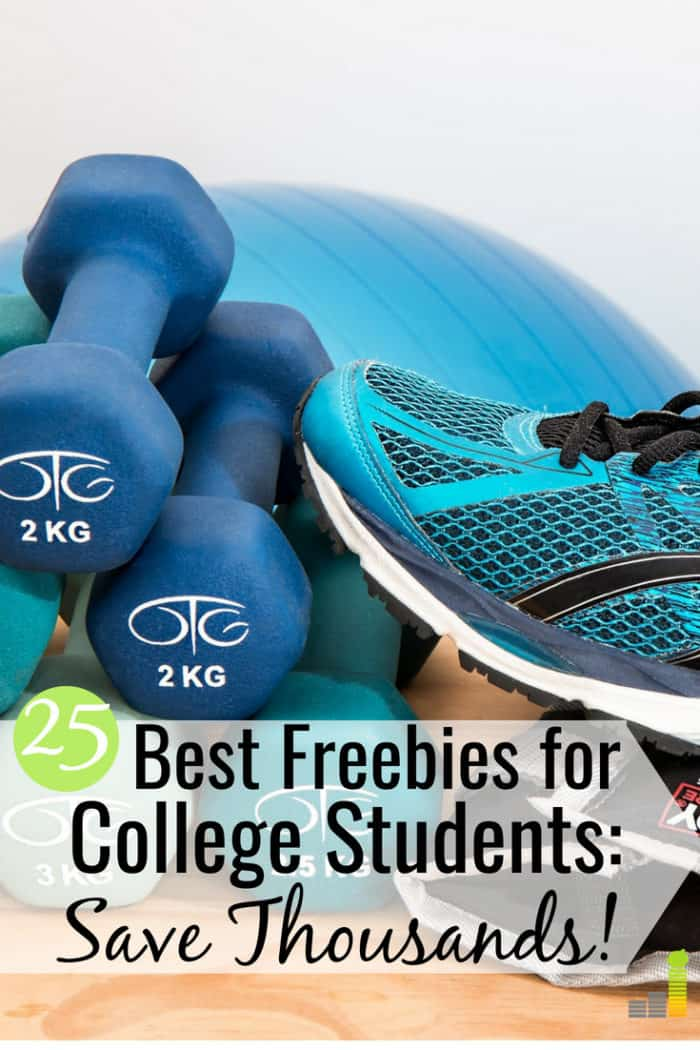 The best freebies for college students let them save money on many things. Here are 25 businesses that offer free stuff and discounts for college students.