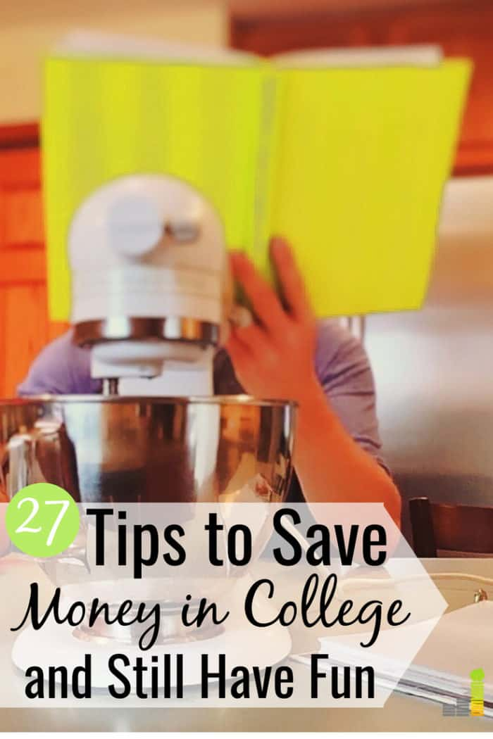 Looking for ways to save money in college, but think you can't? Here are 27 tips to save money in college as a college student and still have a great time.