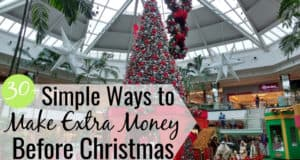 Want to make extra money before Christmas but don't know how? Here are 35 ways to earn extra money before the holidays with little to no skill.