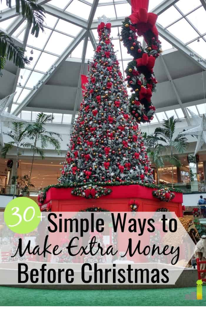 33+ Killer Ways to Make Extra Money Before Christmas