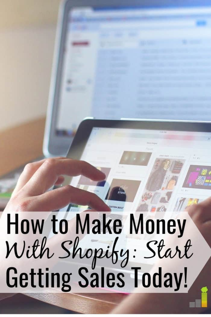 You can make money with Shopify while working from home. We share how to sell on Shopify and have your own E-commerce business to make extra money.