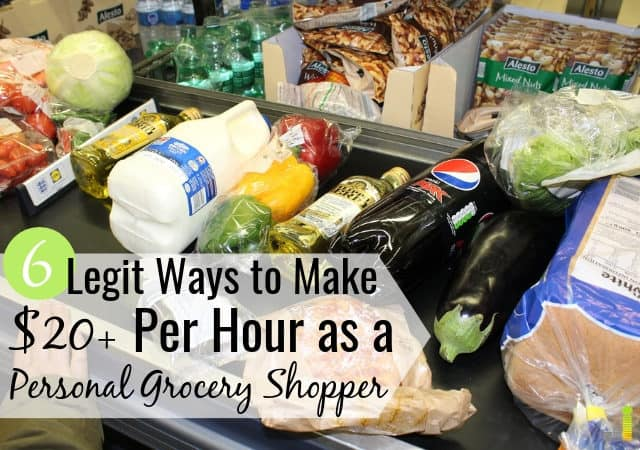You can make money as a personal grocery shopper with little skill. Here are the 6 best ways to get paid to grocery shop for others in your spare time.