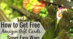 Want to know how to get free Amazon gift cards? Here are 25 legit ways you can earn Amazon gift cards online and save money on all your purchases.