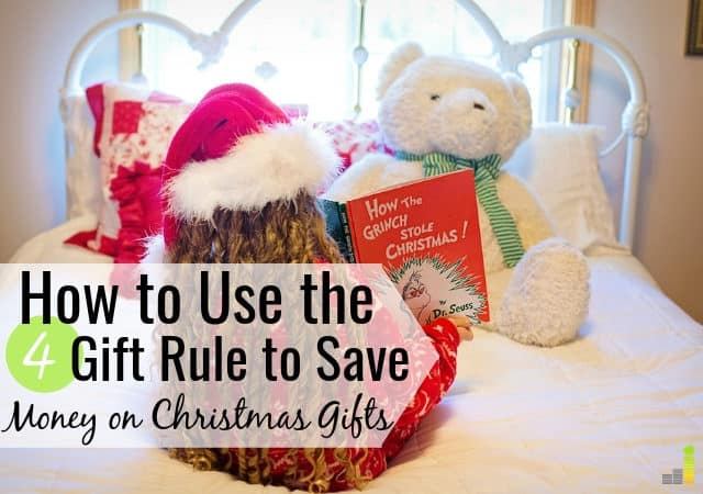 Will the 4 Gift Rule Work for Your Family this Christmas? - Frugal Rules