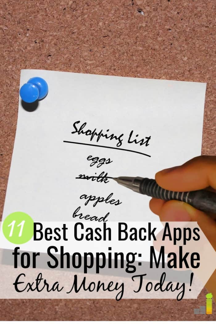 The best cash back apps give you money back at the store. Here are the 11 best cash back shopping apps to earn extra money to put back in your budget.