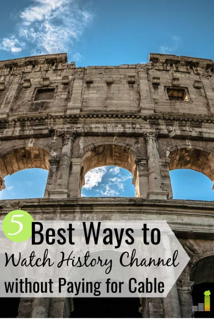 Want to know how to watch History Channel without cable? Here are the 5 best ways to get your favorite History Channel movies and save $50+ per month.