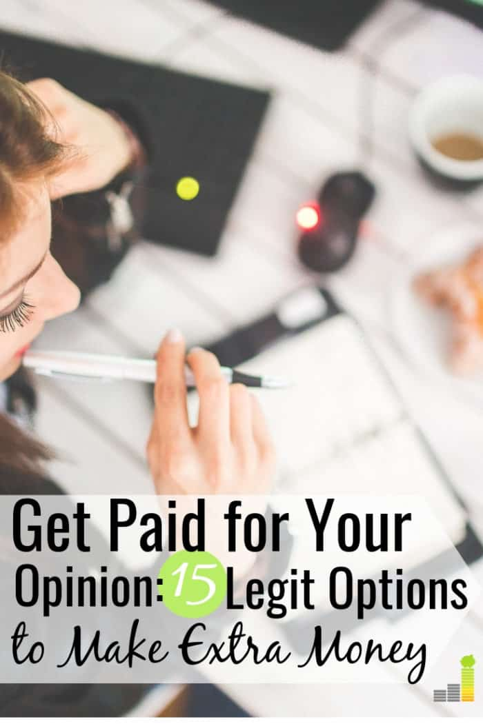 Want to get paid for your opinion? Here are the 15 best ways to make extra money taking paid online surveys and product research in your spare time.